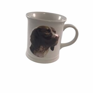 German Shorthair Pointer Dog 3D Coffee Cup Xpres Best Friends White
